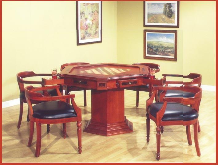 Mesa de juego hexagonal for Juego de mesa esquinero